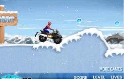 Spiderman cu Atv-ul