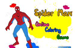 Coloreaza-l pe Spiderman