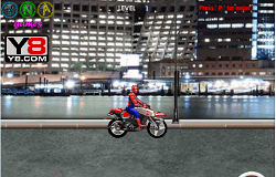 Spiderman Motociclistul