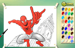 Coloreaza-l pe Spiderman 2