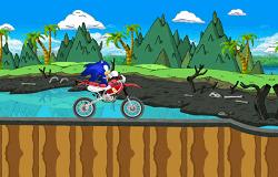 Sonic Aventura cu Motocicleta