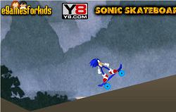 Sonic cu Skateboardul