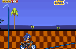 Cascadorii cu Sonic