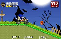 Sonic Cursa de Halloween