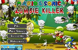 Sonic Vs Zombii