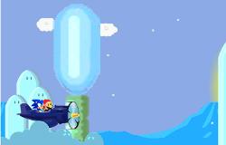 Mario si Sonic cu Avionul