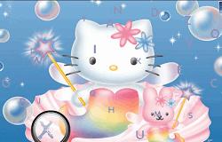 Hello Kitty Cauta Literele Alfabetului