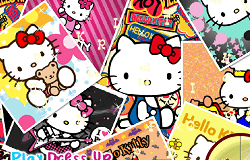 Hello Kitty Litere Ascunse