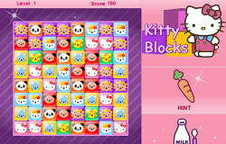 Hello Kitty Blocuri