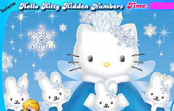 Hello Kitty Numere Ascunse