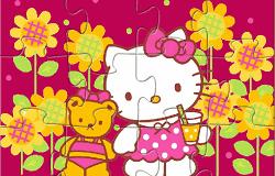 Hello Kitty Puzzle 2