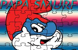 Puzzle cu Tatal Strumf