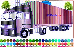 Coloreaza Camionul