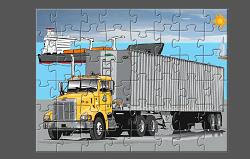 Camioane Puzzle