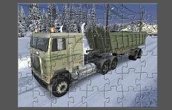 Camionul de Gunoi Puzzle