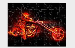 Motociclistul Fantoma Puzzle