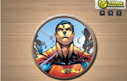 Superman Puzzle Rotund
