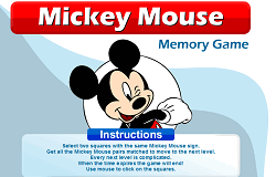 Mickey Mouse Memorie