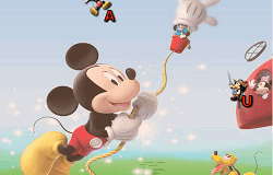 Mickey Mouse Litere