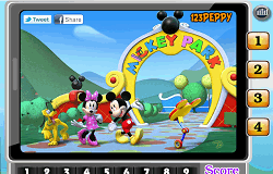 Mickey Mouse Numere