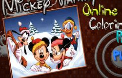 Mickey si Prietenii de Colorat