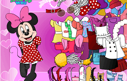 Imbrac-o pe Minnie Mouse