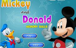 Mickey si Donald Memorie