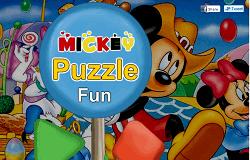 Puzzle cu Mickey
