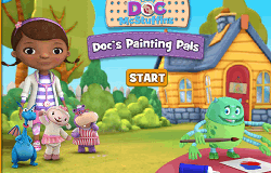 Doctorita Plusica de Colorat
