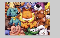 Puzzle Garfield 2