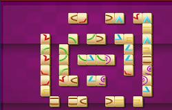 Mahjong cu Figuri Geometrice