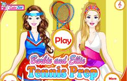Barbie si eliie la Tenis