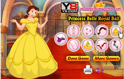 Printesa Belle Dress-up