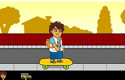 Diego cu Skateboardul