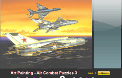 Puzzle cu  Avioane