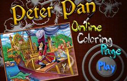 Peter Pan de Colorat