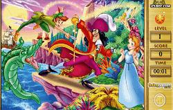 Peter Pan Litere Ascunse
