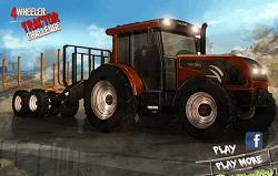 Provocare cu Tractorul