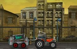 Tractorul de la Service
