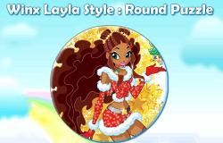 Puzzle cu Layla