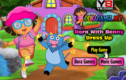 Dora si Benny Dress-up