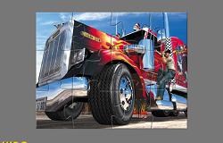 Camionul American Puzzle