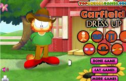 Garfiel Dress-up