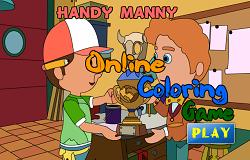 Coloreaza-l pe Manny Iscusitul