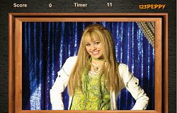 Puzzle cu Hannah Montana