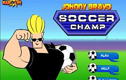 Fotbal cu Johnny Bravo