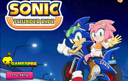 Sonic cu Motocicleta