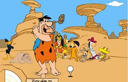 Golf cu Fred Flinstone