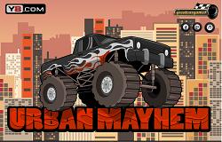 Masina Monstru in Oras