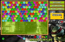 Bubble Testoasele Ninja